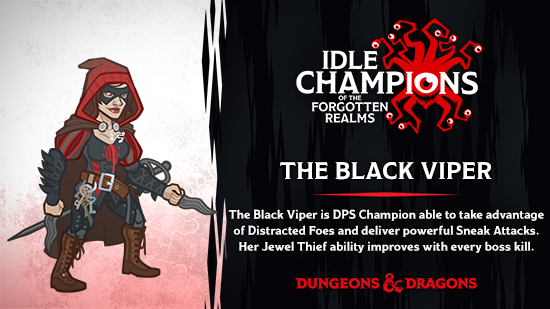 Dungeons & Dragons The Black Viper