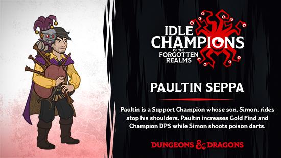 Dungeons & Dragons Paultin Seppa