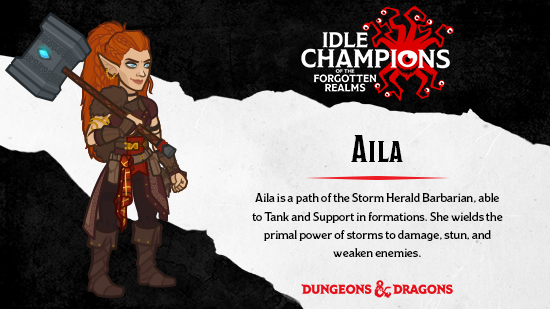 Dungeons & Dragons Aila High Rollers