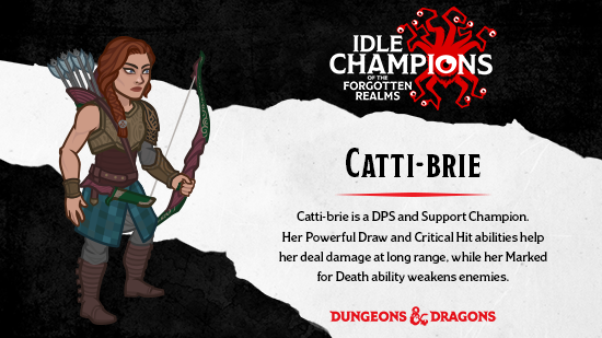Dungeons & Dragons Catti-brie RA Salvatore