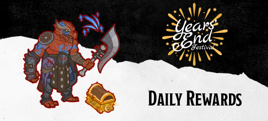 Dungeons & Dragons Years' End Festival Daily Rewards