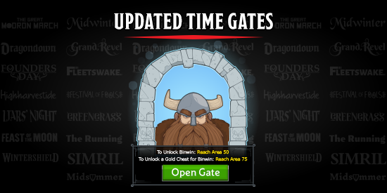 Dungeons & Dragons Idle Champions Time Gate