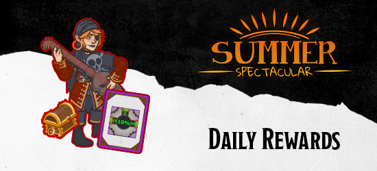 Dungeons & Dragons Summer Spectacular Daily Rewards
