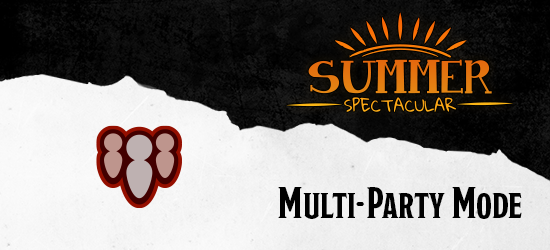 Dungeons & Dragons Summer Spectacular Multi-Part Mode