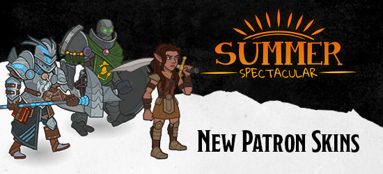 Dungeons & Dragons Summer Spectacular New Patron Skins