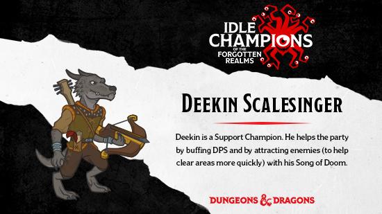 Dungeons & Dragons Deekin Scalesinger Kobold
