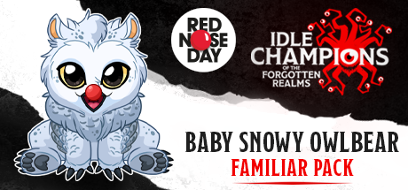 Dungeons & Dragons Baby Snowy Owlbear Red Nose Day