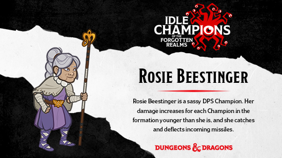 Dungeons & Dragons Rosie Beestinger Acquisitions Incorporated