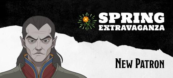 Dungeons & Dragons Spring Extravaganza New Patron Strahd von Zarovich