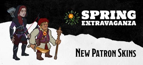 Dungeons & Dragons Spring Extravaganza New Patron Strahd von Zarovich Skins