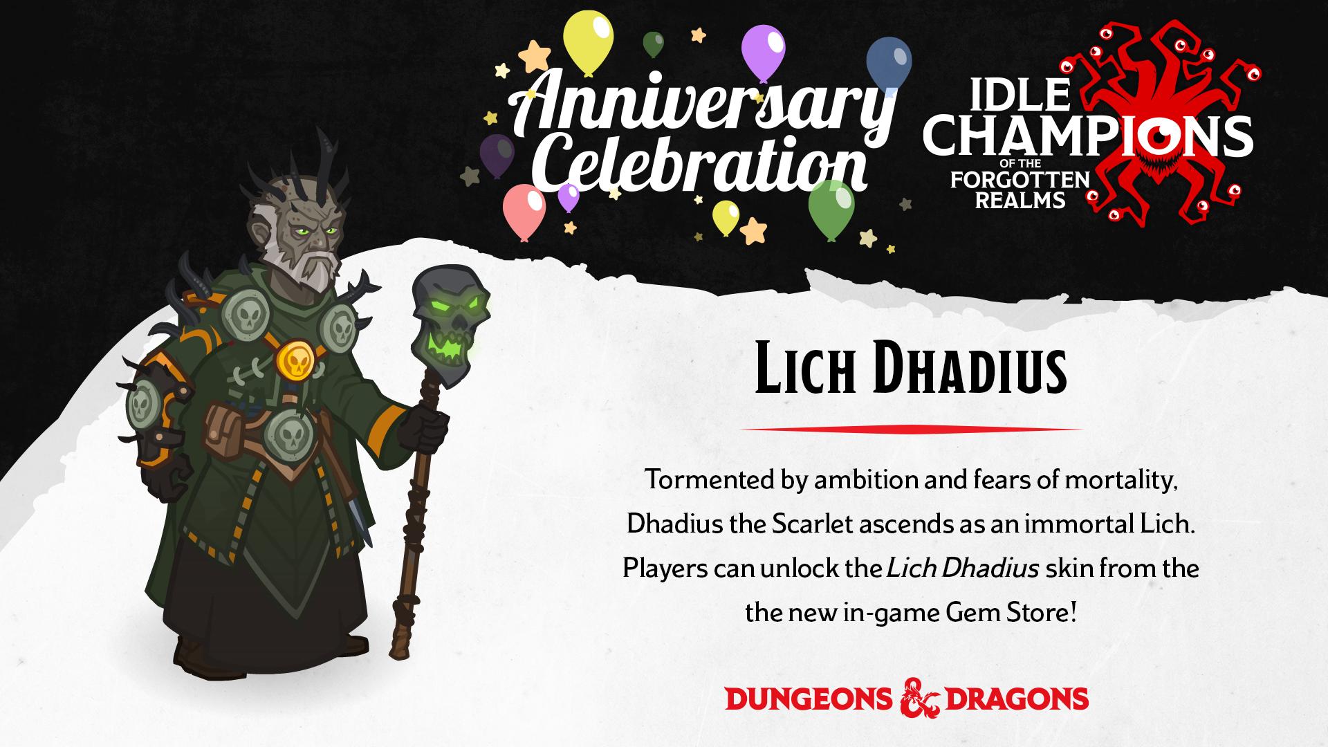 Dungeons & Dragons Lich Dhadius