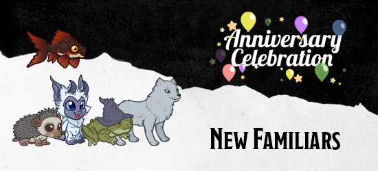 Dungeons & Dragons Third Anniversary Celebration Familiars