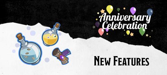 Dungeons & Dragons Third Anniversary Updates