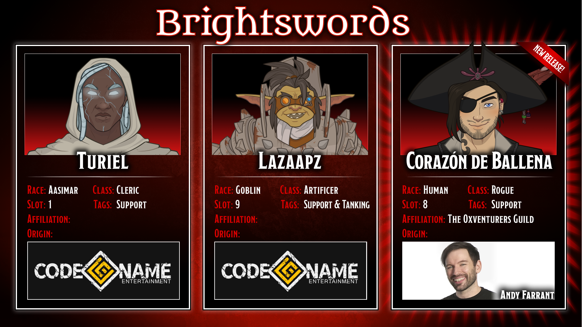 Dungeons & Dragons Corazon