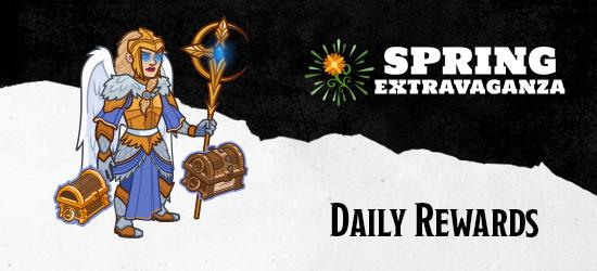 Dungeons & Dragons Spring Extravaganza Daily Rewards