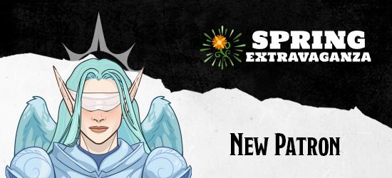 Dungeons & Dragons Spring Extravaganza New Patron Zariel