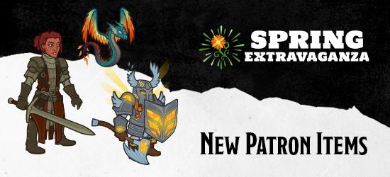 Dungeons & Dragons Spring Extravaganza Patron Items