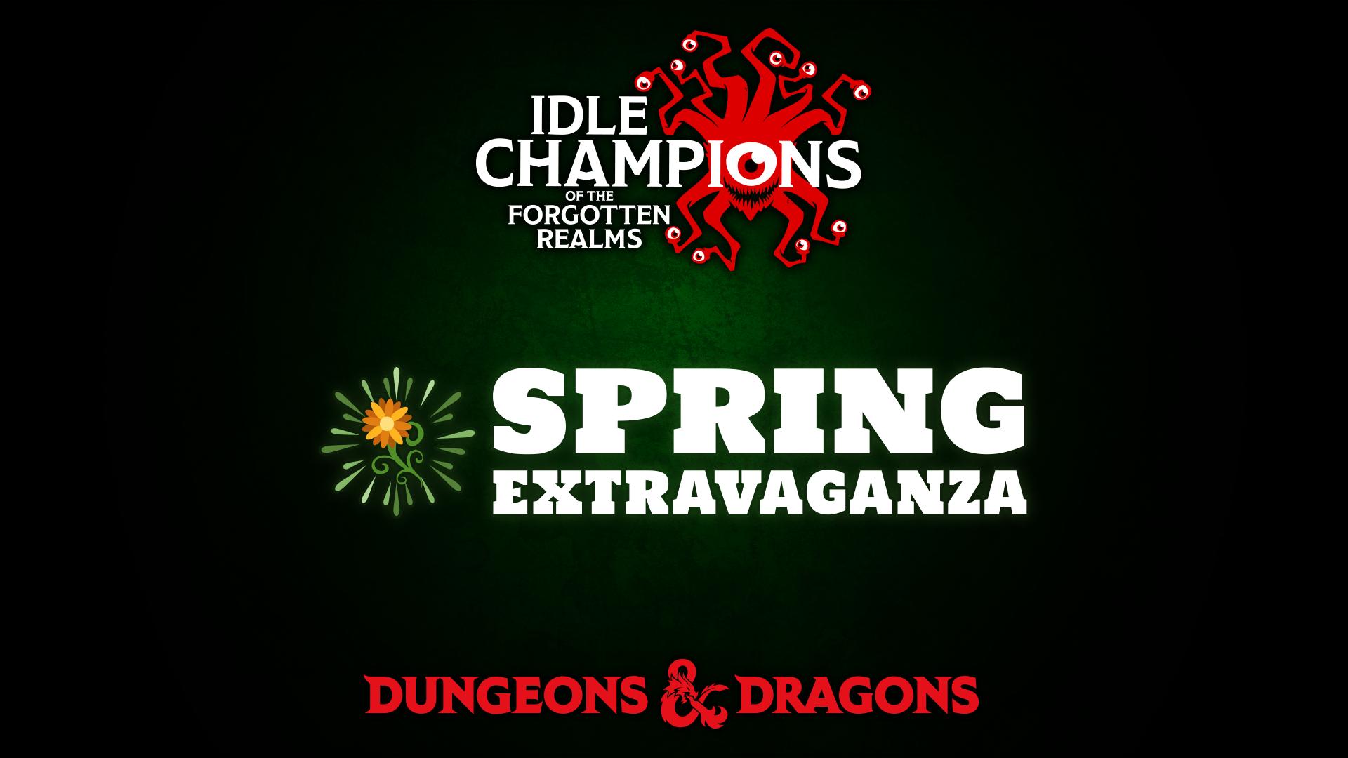 Dungeons & Dragons Spring Extravaganza
