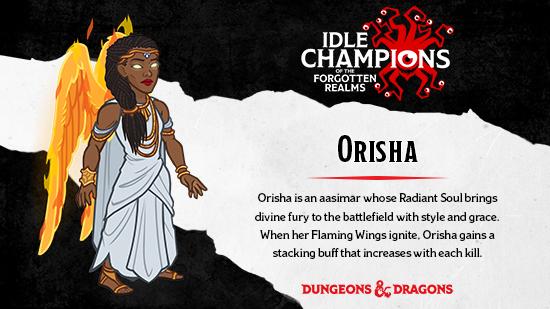 Dungeons & Dragons Orisha Krystina Arielle