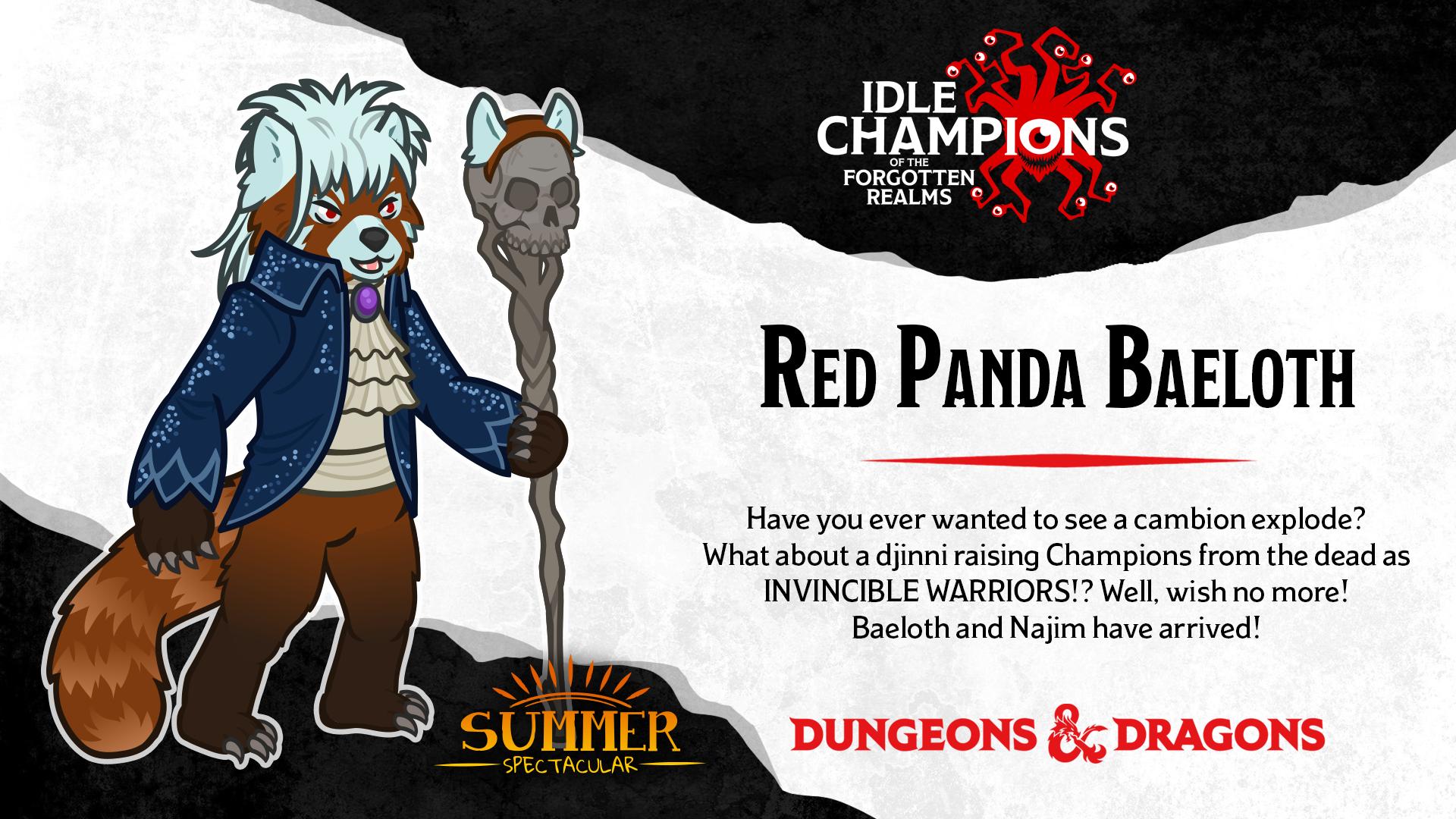 Dungeons & Dragons Summer Spectacular New DLC