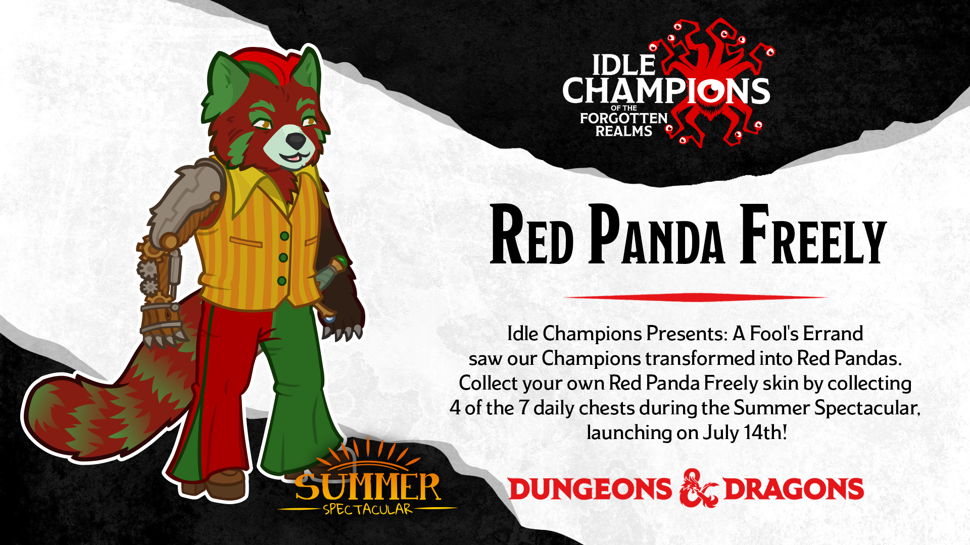 Dungeons & Dragons Summer Spectacular Red Panda Freely