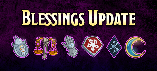 Dungeons & Dragons Fourth Anniversary Celebration Blessings