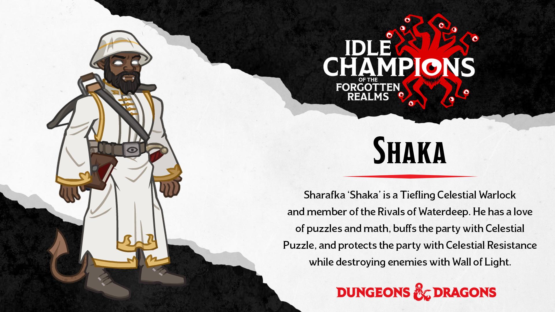 Dungeons & Dragons Shaka Shareef Jackson