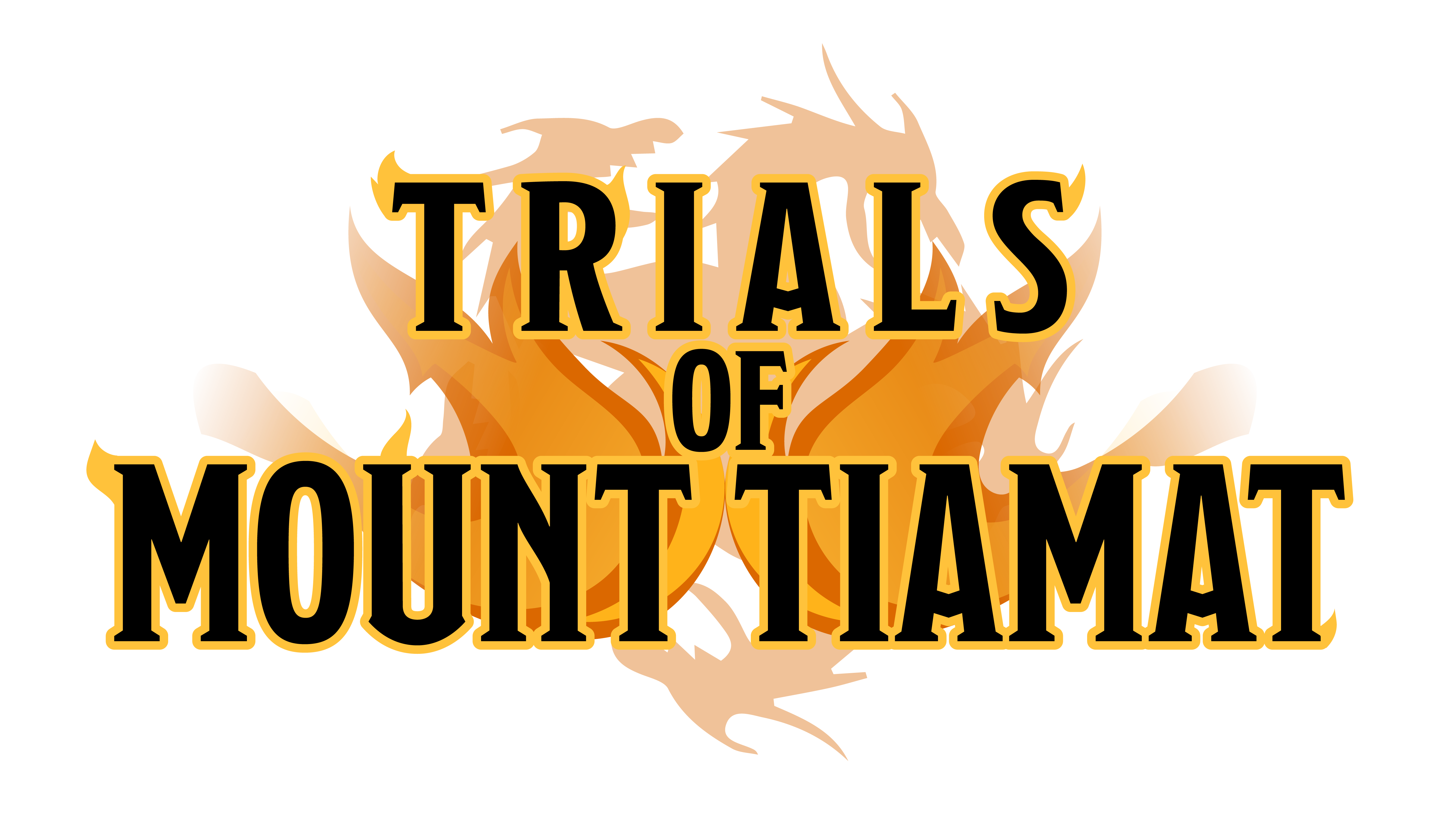 Dungeons & Dragons Trials of Mount Tiamat Logo Clear